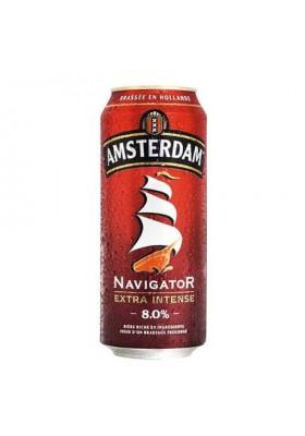 Bière Blonde AMSTERDAM Navigator Pack Boîtes 24x50cl